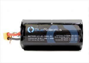 Lithium-ion Battery (14.8V, 18Ah) BlueRobotics