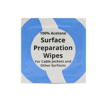 Acetone Cable Preparation Wipes (10 pcs)