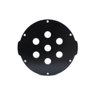 "Aluminum End Cap with 7 Holes (3"" Series)"