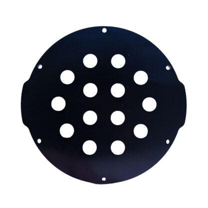 "Aluminum End Cap with 14 Holes (4"" Series)"