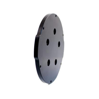"Aluminum End Cap with 5 Holes (4"" Series)"