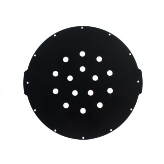 "Aluminum End Cap with 15 Holes (8"" Series)"