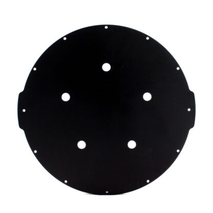 "Aluminum End Cap with 5 Holes (8"" Series)"